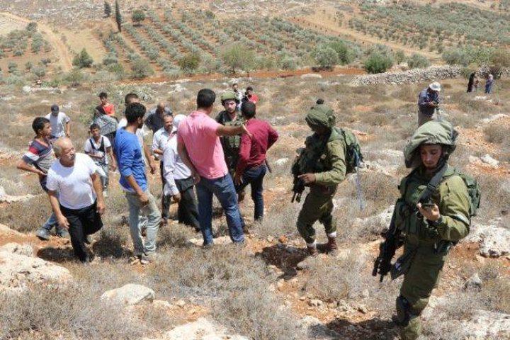 إصابات واعتقال شاب خلال مواجهات جنوب نابلس