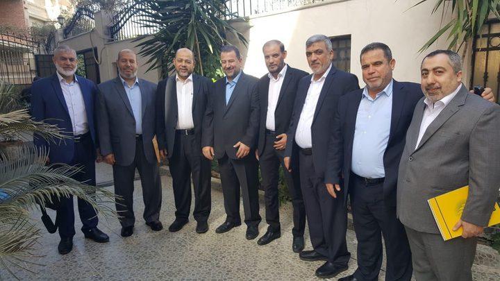 وفد حماس يصل القاهرة لبحث سبل وقف العدوان الاسرائيلي على غزة