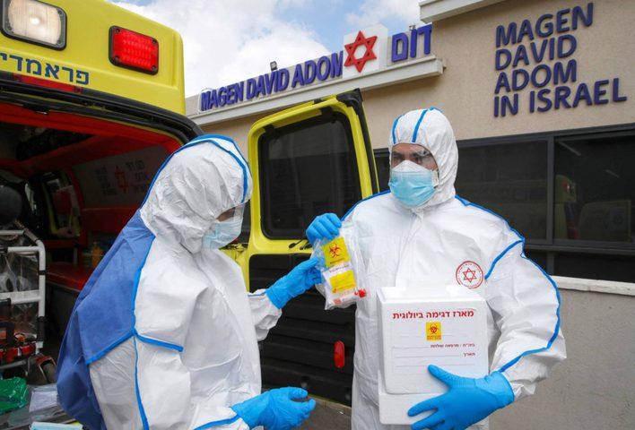 """""""إسرائيل"""" تسجل 7 حالات إصابة بفيروس كورونا"""