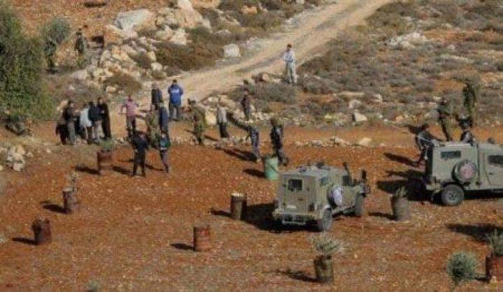 بريجيه: اعتداء المستوطنين على الارض مدعوم من الاحتلال