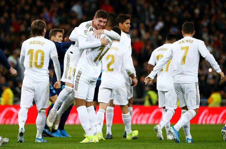 ريال مدريد يستعيد صدارة الليغا الإسبانية