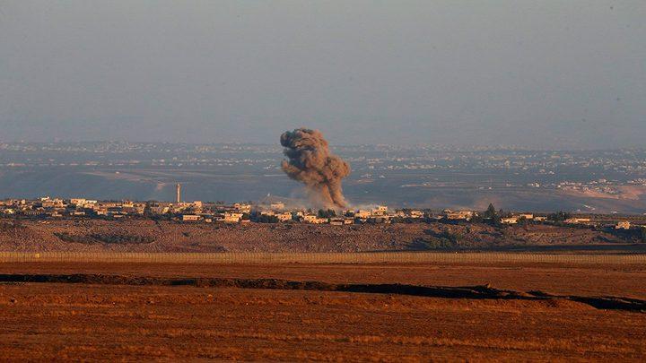 """""""سانا"""": صاروخ إسرائيلي يستهدف سيارة مدنية في الجولان"""