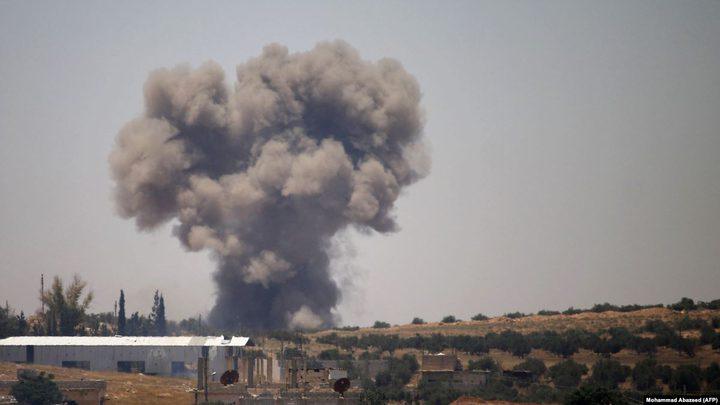 صاروخ إسرائيلي يستهدف سيارة مدنية بالقنيطرة