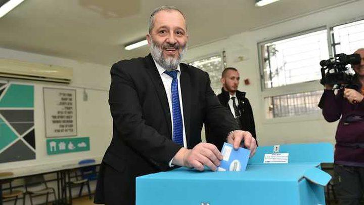 درعي: آمل أن تتوج هذه الانتخابات بحصول اليمين على أغلبية ساحقة