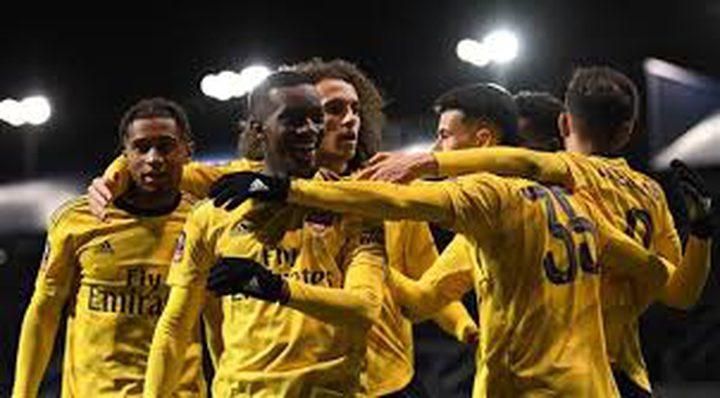 أرسنال يحجز البطاقة الأولى إلى ربع نهائي كأس إنجلترا