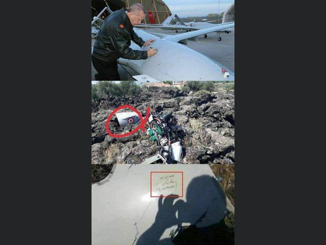الجيش السوري يسقط طائرات تحمل توقيع أردوغان