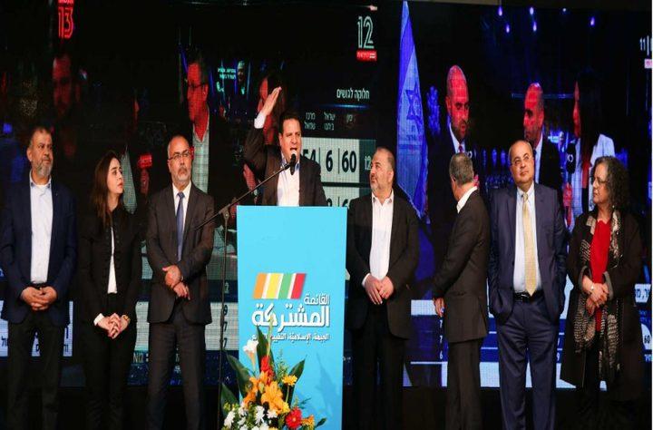 عودة يؤكد أن القائمة المشتركة ستمنع نتنياهو من تشكيل حكومته
