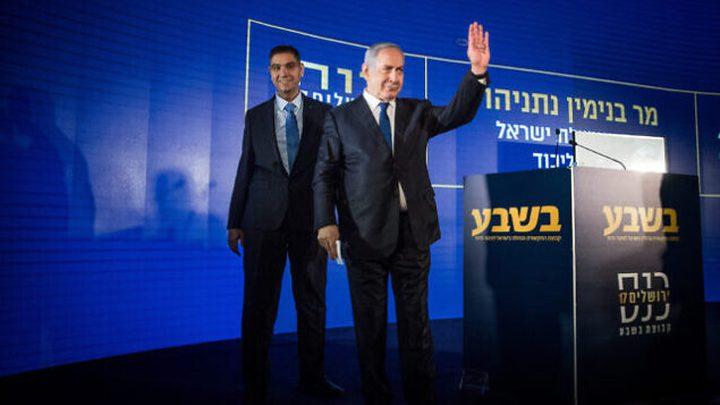 الاعلام العبري: نتنياهو التقى جنرالا وضع في العزل بسبب كورونا