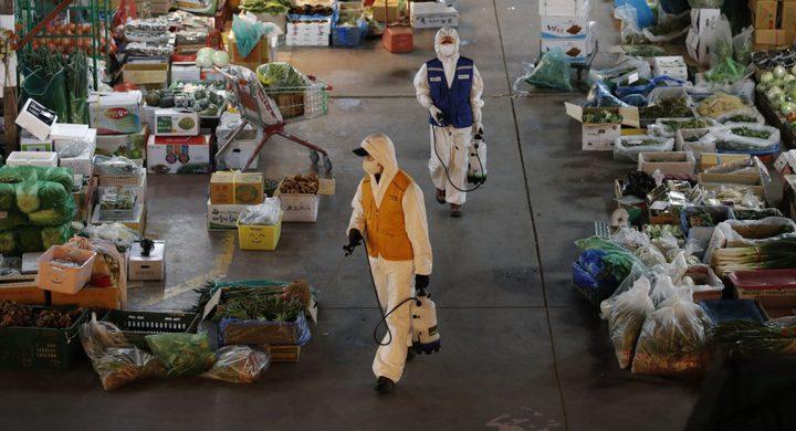 تسجيل 38 وفاة بكورونا في الصين و516 إصابة في كوريا الجنوبية