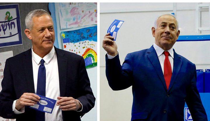 بعد اعلان فوزه:نتنياهو يهاجم غانتس ويتهمه بمحاولة سرقة الانتخابات