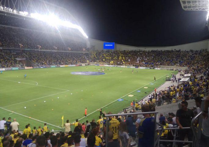 الصحة الاسرائيلية:حجر الاف حضروا مباراةبسبب مشجع مُصاب بـكورونا