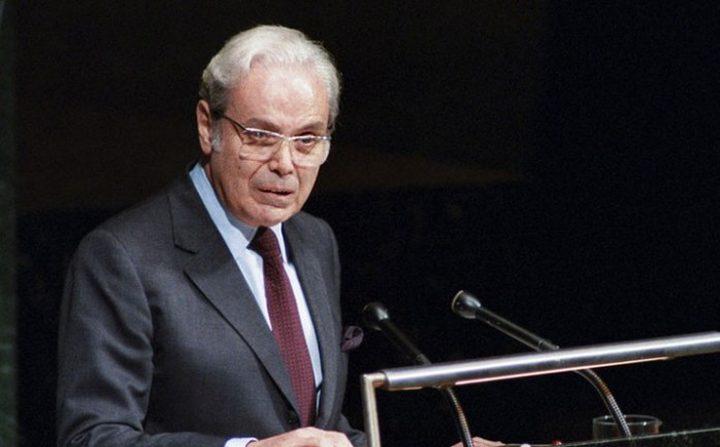 وفاة الأمين العام الأسبق للأمم المتحدة خافيير دي كوييار