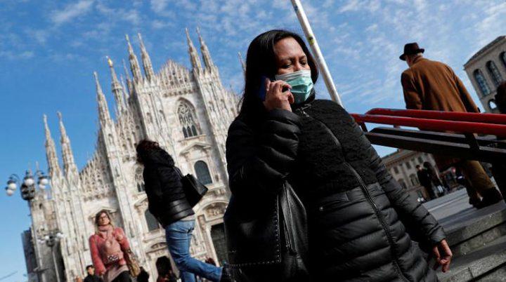 """ايطاليا: 148 وفاة بفيروس """"كورونا"""""""