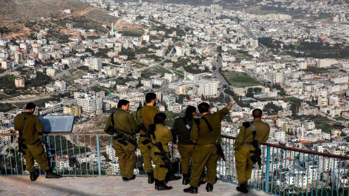 إسرائيل تدرس فرض إغلاق كامل على الضفة الغربية