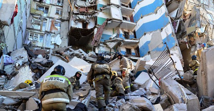 الباكستان: مصرع 10 أشخاص جراء انهيار مبنى سكني في كراتشي