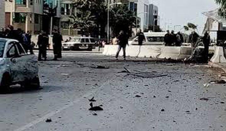 اصابات بتفجير انتحاري أمام السفارة الأميركية في تونس