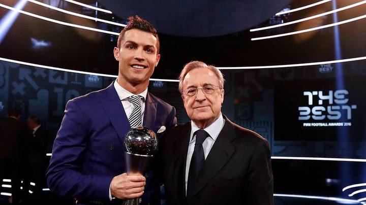 الكشف عن مكالمة مفاجئة بين رونالدو و رئيس ريال مدريد