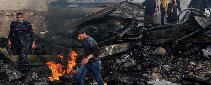 استشهاد مواطن متأثرًا بإصابته في حريق النصيرات