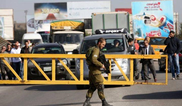 الاحتلال يدرس فرض إغلاق كامل على الأراضي الفلسطينية