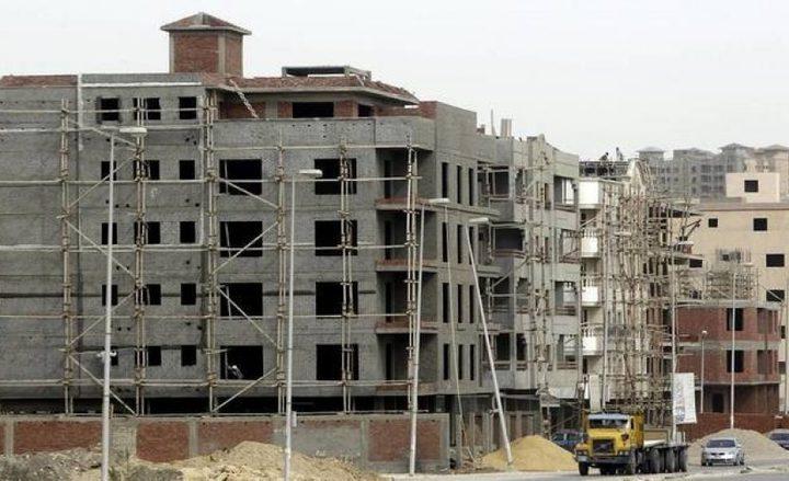 الاحصاء: ارتفاع عدد رخص الأبنية على مستوى فلسطين خلال 2019