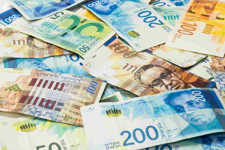 أسعار العملات مقابل الشيقل لليوم الإثنين