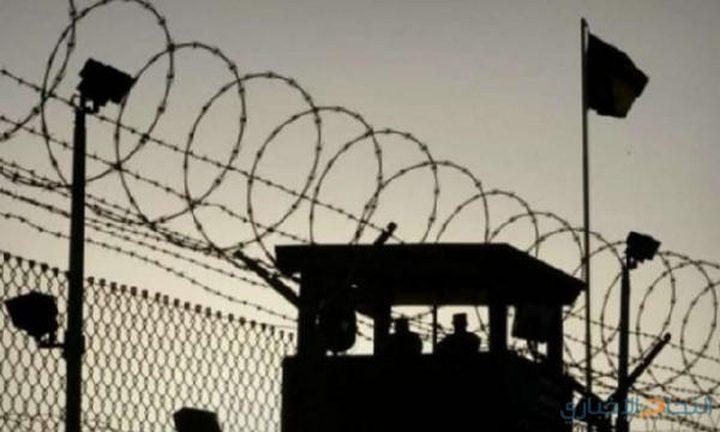"""إدارة سجون الاحتلال تعزل 4أسرى من الهيئة التنظيمية لـحركة """"فتح"""""""