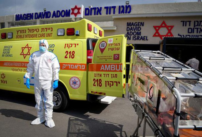 """إسرائيل تتوقع إصابة 60% من سُكانها بـ""""فيروس كورونا"""""""