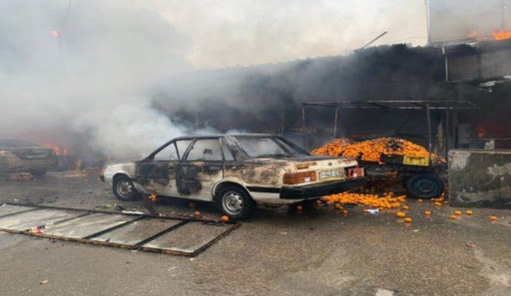 وفاة مواطن متأثرا بإصابته بحريق النصيرات وسط غزة