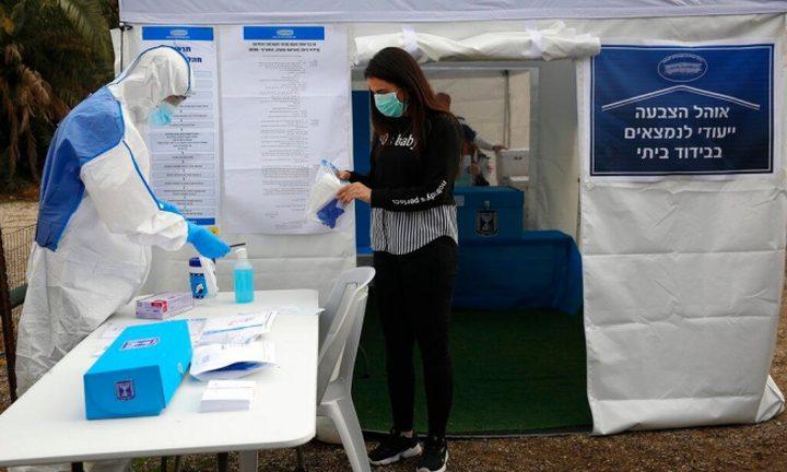 عدد الإصابات بفيروس كورونا في إسرائيل يرتفع إلى 76 حالة