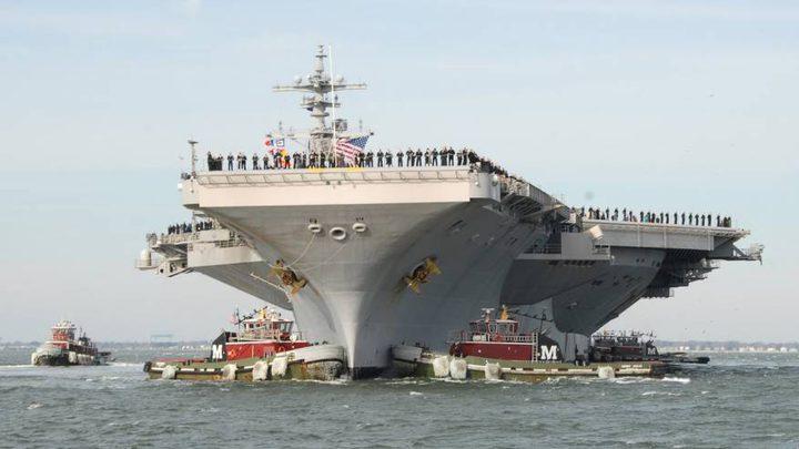 الولايات المتحدة تعلن اكمال ثاني زيارة لحاملة طائرات إلى فيتنام
