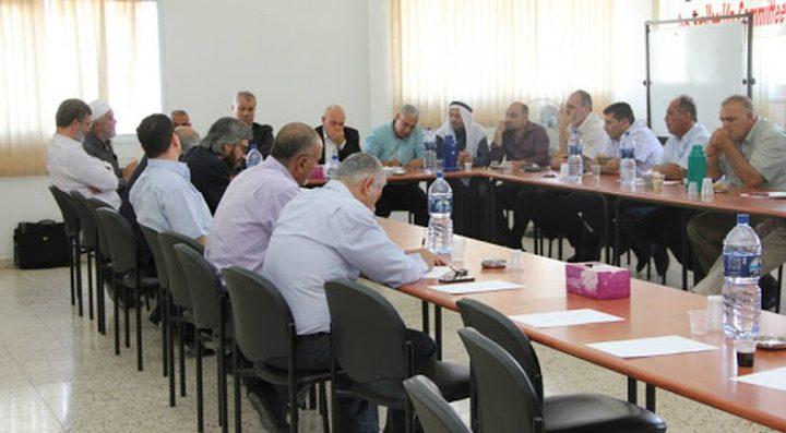 اللجنة القطرية تبحث عملية تنظيم التمثيل العربي