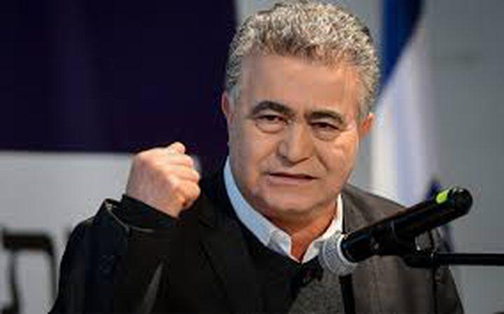 بيرتس يوافق على الانضمام لحكومة برئاسة غانتس