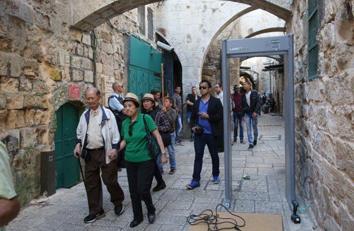 الاحتلال يصدر أمرا رسميا بمنع دخول السياح بسبب كورونا