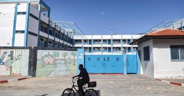 الأونروا تقرر تمديد اغلاق المدارس اسبوع اخر بغزة