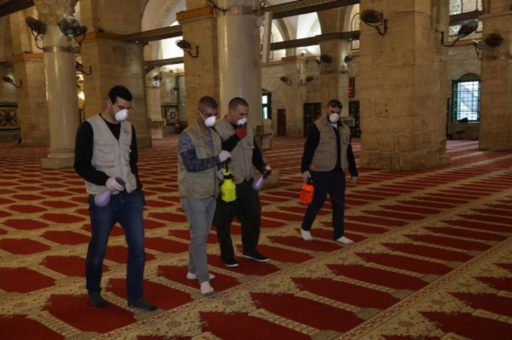الأوقاف تدعو المواطنين للصلاة في منازلهم حفاظاً على سلامتهم