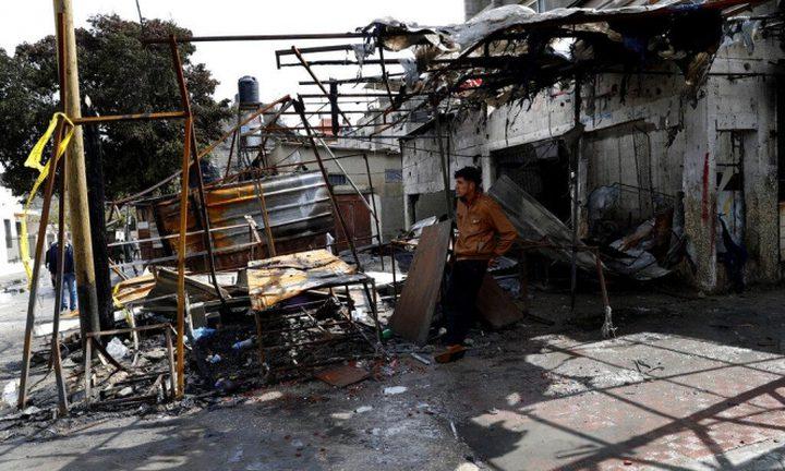 وفاة مواطن متأثراً بإصابته بحريق النصيرات وسط غزة