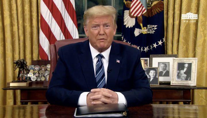 ترامب يعلق استقبال الرحلات القادمة من أوروبا 30 يوما بسبب كورونا