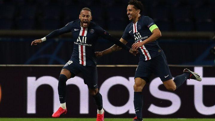 باريس سان جيرمان يبلغ ربع نهائي الأبطال على حساب بوروسيا دورتموند