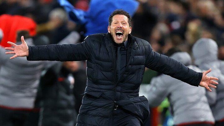 أتلتيكو مدريد يقصي ليفربول من دوري الأبطال