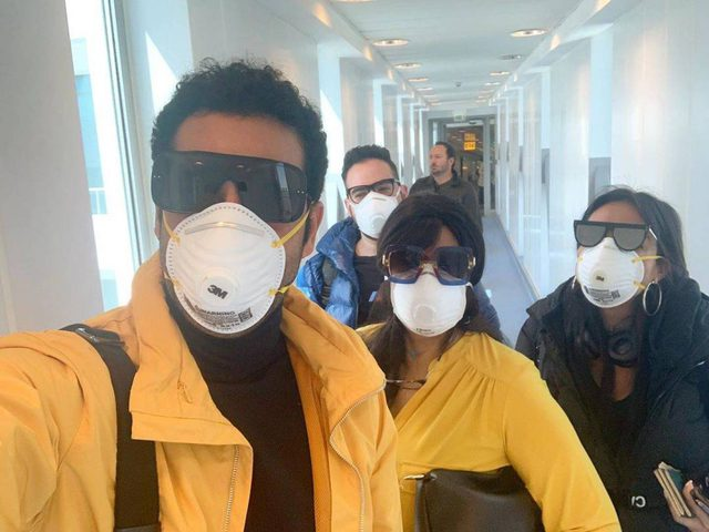 فيفي عبدو وسارة الطباخ و عمرو سعد يتحدون فيروس كورونا