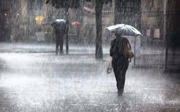 الطقس: تتأثر البلاد بمنخفض جوي عميق يستمر حتى الأحد