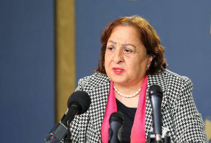 """وزيرة الصحة: بدء إجراء فحوصات """"كورونا"""" في بيت لحم"""