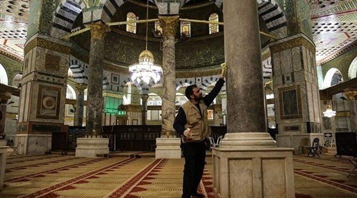 الكسواني: جميع الصلوات ستقام بساحات المسجد الاقصى