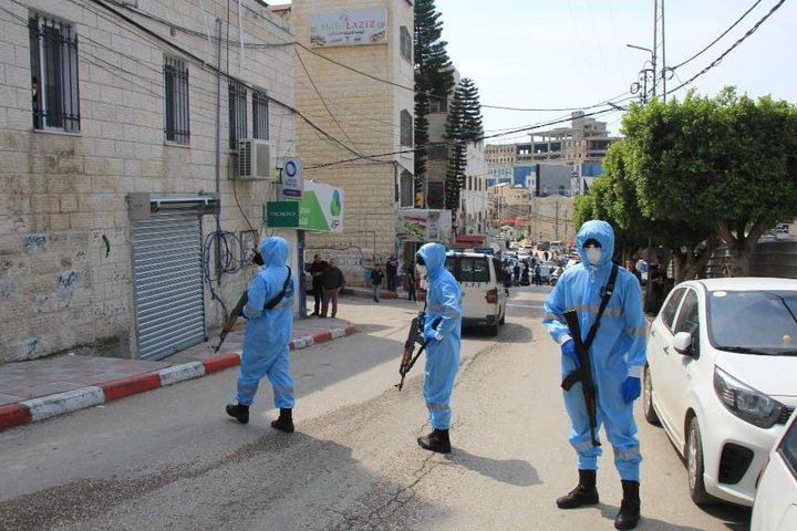 الشرطة تؤمن مكان حجر المصاب الثاني بفايروس كورونا في طولكرم