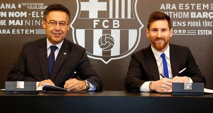 ما هو شرط ميسي للتجديد مع برشلونة ؟