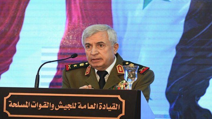 البيت الأبيض يفرض عقوبات على وزير الدفاع السوري