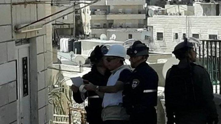 الاحتلال يستغل انتشار كورونا لتنفيذ مخططات الهدم ووقف البناء