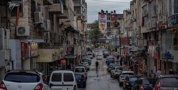 """""""كورونا"""" يشل الحركة التجارية في مدينة طولكرم"""