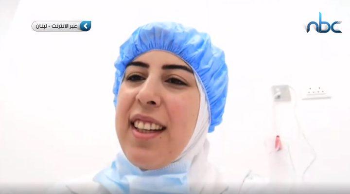 لارا حمود... عزلت نفسها بسبب عملها بقسم العزل لمصابي كورونا