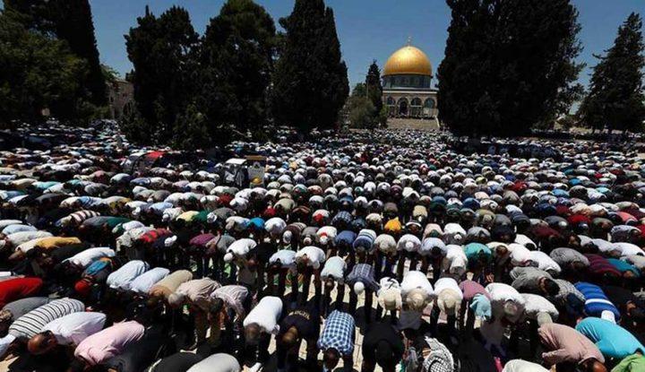 إرشادات للمصلين القادمين إلى المسجد الأقصى المبارك